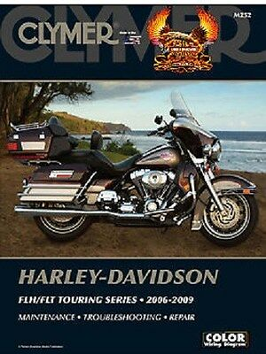 Clymer Service Manual Harley Davidson Road King 2006-09, Road King Classic 07-09
