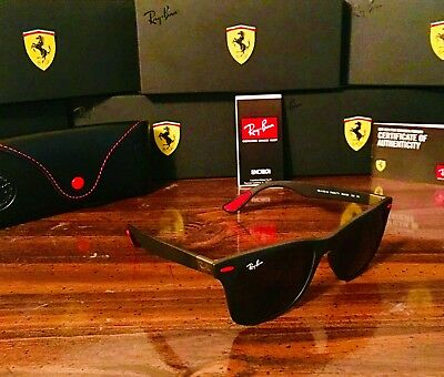 Ray-Ban Wayfarer Liteforce RB4195M F60271 52mm Scuderia Ferrari Collection