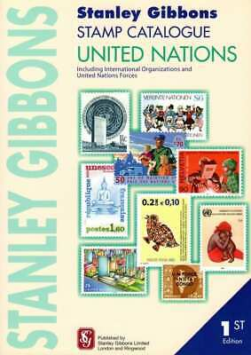 SG Stanley Gibbons United Nations Stamp Catalogue 1st Edition Soft Cover