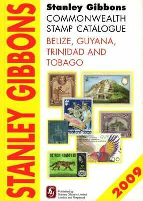 SG Stanley Gibbons Belize Trinidad Tobago Commonwealth Stamp Catalogue 1st Ed...