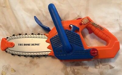 Home Depot Toy Chainsaw Spinning Chain & Sounds
