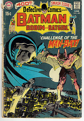 Detective Comics #400 - DC Comics 1970 - First Man-Bat! Neal Adams