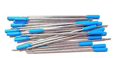 25 CROSS Style Ballpoint Pen Refills - BLUE - FREE SHIPPING !! These work good !