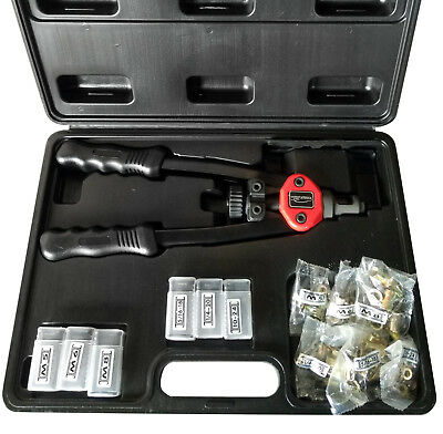 "New Hand Riveter Gun Kit 13"" Rivet Nutsert Tool Riv Nuts Pneumatic Threaded Pop"
