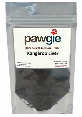 Pawgie Kangaroo Liver Cat Treats Pet Supplies