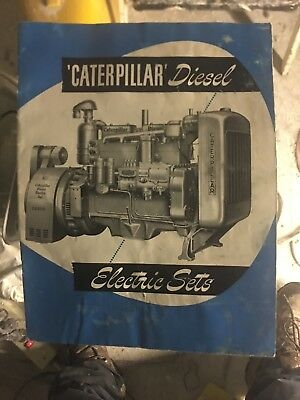 brouchure caterpillar diesel electric sets