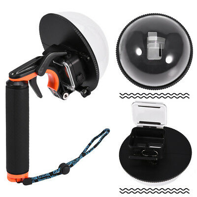 6'' Dome Port Lens Diving Camera Cover Mask Underwater Shell for GoPro Hero 5