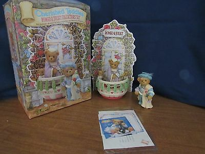 Cherished Teddies 1996 Romeo & Juliette Collector's Set NIB Great  Gift