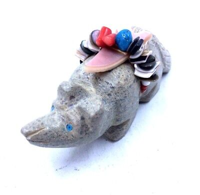 Zuni Stone Fetish COYOTE Handcrafted Native American *H40