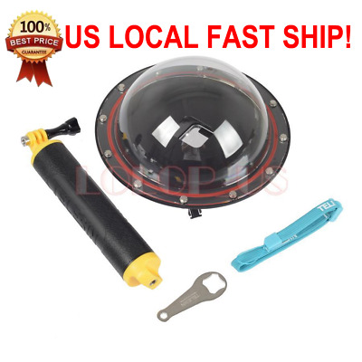 6 Inch Waterproof Diving Housing Dome Port for GoPro Hero 5 Action Camera