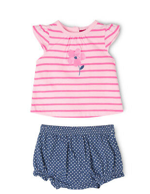 NEW Sprout Girls T/Shirt and Short Set Pink