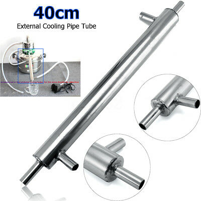 40cm Stainless Steel External Cooling Pipe Tube Distiller Condenser for Brewery