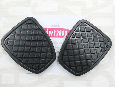 New 2X Brake and Clutch Pedal Pad For Subaru Impreza Forester Liberty 36015GA111