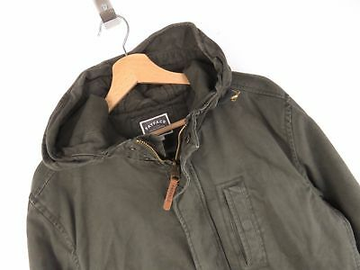 "TOP Vintage Canvas Parka Oliv M 48 ""Must have"" v. Fat Face (GB) Herbst / Winter"