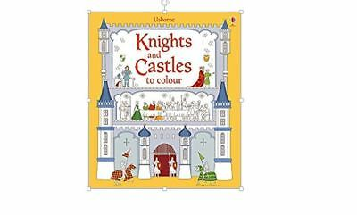Usborne Knights and Castles to Colour New Paperback RRP:£6.99