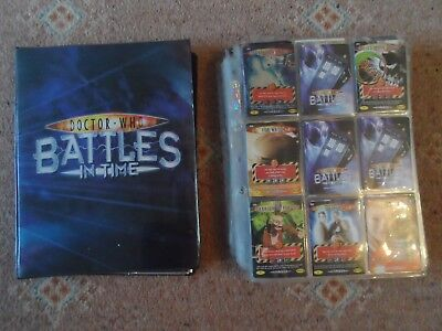 Doctor Who Battles in Time Card Lot All Sets Incomplete 1-1075 Rare Collectables