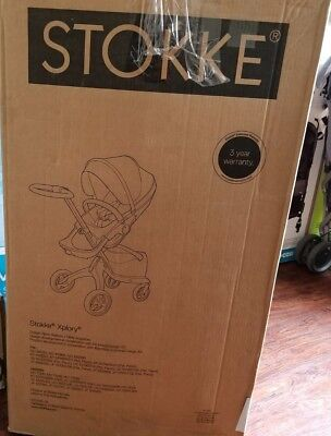 Stokke Xplory Black Melange Stroller NEW IN BOX ($1,099 MSRP)