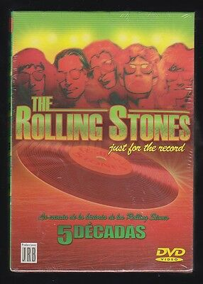 PACK DVD THE ROLLING STONES Just for the Record