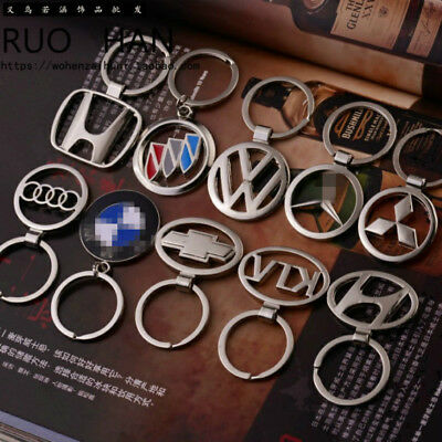 NEW! Metal Car Logo Key Ring of Volkswagen BMW Ford Brand Pendant Small Gift