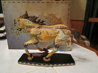 Horse Of A Different Color Figurine-Run 20374  Nib