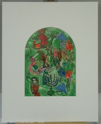 Marc CHAGALL CS20-pp Original Lithographie Jerusalem 09/12: Ascher