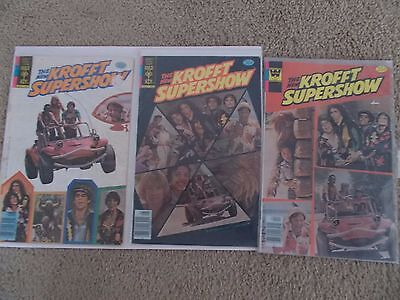 The New Krofft Supershow Set Of 3 Comic Books From 1977