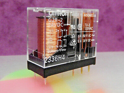 RELAY DPCO G2R-2 24DC 5A contacts 24Vdc coil OMRON