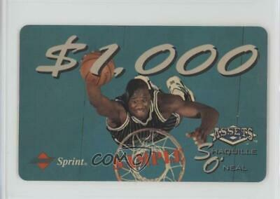 1994 Classic Assets Phone Cards $1000 Sample #N/A Shaquille O'Neal Orlando Magic