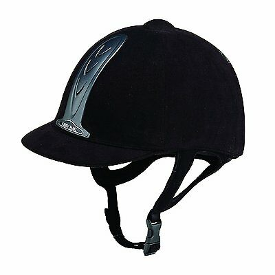 Harry Hall Legend Riding Hat - Black 7 Inches (57cm) - NOT Pas015 - New