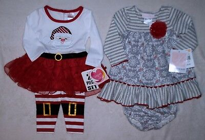12 Month Baby Girl Winter Clothing. One 9 Month Outfit. 5  Free Items!!