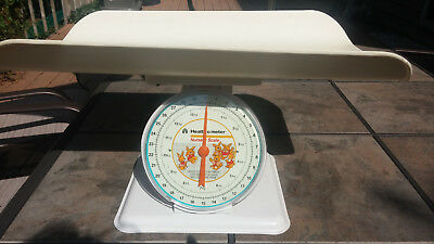 Vintage Style Baby Scale  Health O Meter Bunnies   Up to 30 pounds