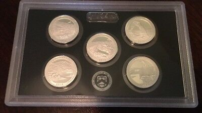 2014-S Silver Proof State Quarter Set