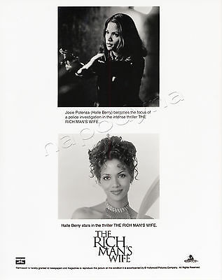 Rich Man's Wife Movie Stills 1 BW Photo 2 Color Slides +Prod. Book Halle Berry