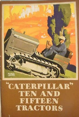 1928__Caterpillar__Tractor__10_&_15_Hp__ Photo_Illustrated Maurice__Logan__Cover