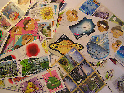 25 grammes Of Modern Finland Stamps On Paper Kiloware