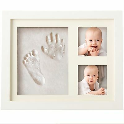 Bubzi Co Hand & Footprint Makers Baby Handprint Frame Package Keepsake