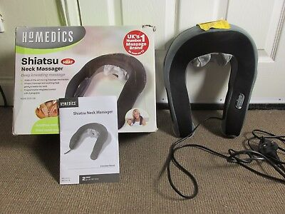 Homedics Shiatsu Neck Massager - Neck Massage With Heat Boxed  Model NMS-300