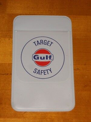 Gulf Oil Pen Pocket Protector Target Safety New Old Stock