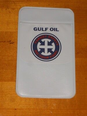 Gulf Oil Pen Pocket Protector Target Safety Do Your Part New Old Stock