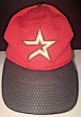 Enron Field Baseball Hat Houston ASTROS vs Milwaukee BREWERS Opening Day 2001