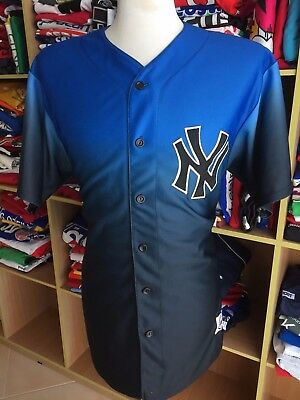RAR Vintage Baseball Trikot New York Yankees (XL) Majestic MLB Jersey Shirt