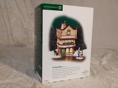 Dept 56 ESTATE SALE!  Dickens Village - The Daily News #56.58513