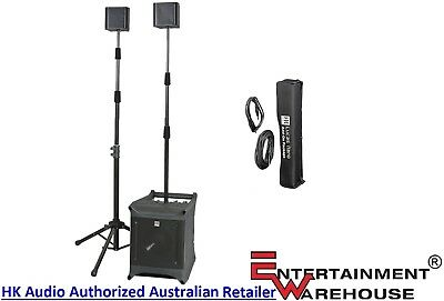 NANO-300 - HK Audio Complete Active Sound System + Stand Pack