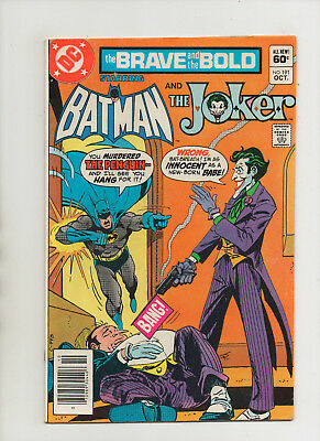 Brave & The Bold #191 - Batman Joker Penguin Cover - (Grade 7.0) 1982