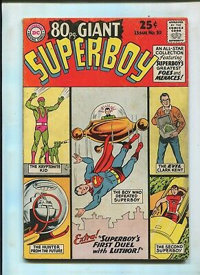 Dc 80 Page Giant #10 (7.0) Superboy's First Duel With Luthor!