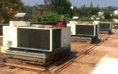 5 Ton Rooftop A/c & Heating System 230V 3Ph.