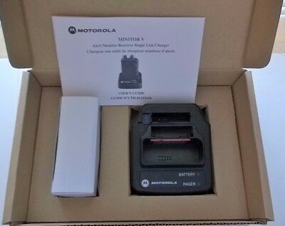 Motorola Minitor V charger and Power Supply  Minitor 5