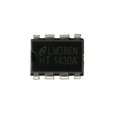 10PCS LM386 LM386N DIP-8 Audio Power AMPLIFIER IC Great Qualtiy WL