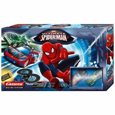 NEU Marvel Ultimate Spiderman RC Carrera Rennsport 2.4m Track 1:43