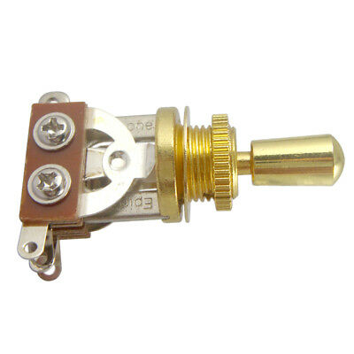 3 Way Toggle Switch & Tip Pickup Selector for Les Paul Guitar Parts - Golden